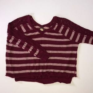 Free People Striped Sweater